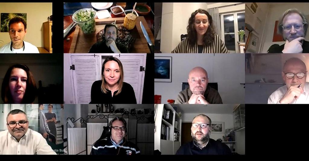 Screenshot Teilnehmer
